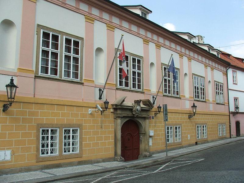 Residence of the Austrian Ambassador in Prague